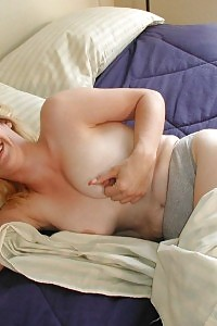 Tight Blonde Older Bitch Frisky Early In The Morning Then Sex Toy Grinding