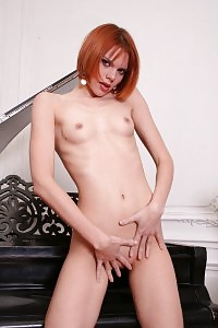 Naughty Queen Ginger Exhibit Her Fleshy Asshole And Gets Wild Deep Throat Banging From Two Boys